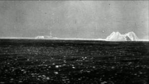 First images of the icebergs and ice field on the morning of April 15th, 2012. Bernice saw debris and deck chairs floating in the ice field. She then realized the magnitude of the tragedy.