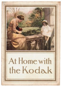 "Early 20th Century Kodak Girl. ""Capture the moments that matter."" (Courtesy Vintage Everyday)"