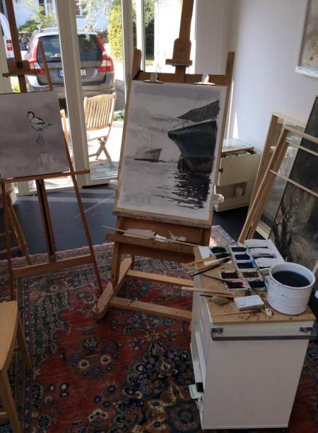 Gunnar Tryggmo Studio in Sweden.