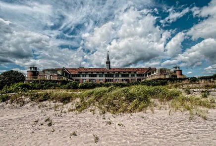 Sea Overview - Seaside Sanatorium, Waterford, Connecticut ©2014 Robert Marsala