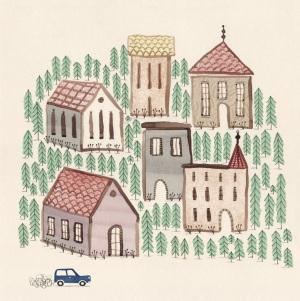 ∫Groundhog Day — The Village | promotional piece | 2014 © Anna Raff