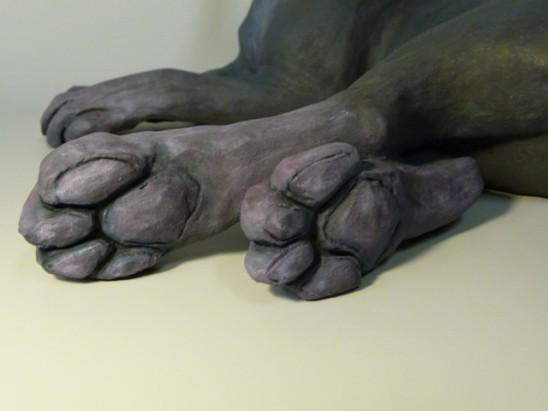 Hares (detail) - Natasha Cousens