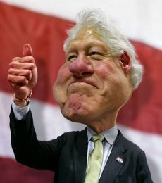 ∫ Former President Bill Clinton © Rodney Pike.