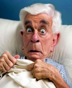 ∫ The Late Leslie Nielsen © Rodney Pike.