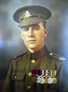 ∫ Henry Tandey VC, DCM, MM (30 August 1891 – 20 December 1977) was an English recipient of the Victoria Cross, the highest award for gallantry in the face of the enemy that can be awarded to British and Commonwealth forces. He was the most highly decorated British private of the First World War. (Wikipedia)