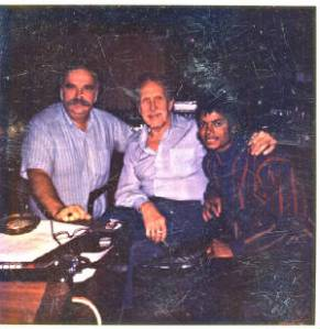 ∫ Photo of Vincent Price after Recording Price's Rapping for Jackson's Thriller (photo credit The Old Movie Maven Website)