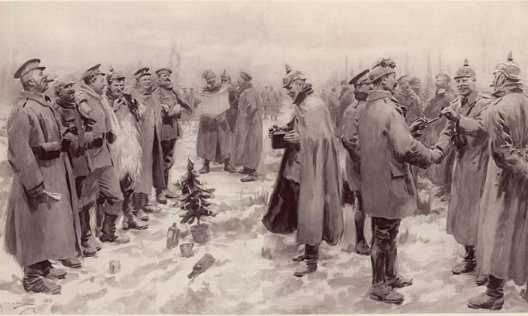 ∫ Originally published in The Illustrated London News, January 9, 1915.