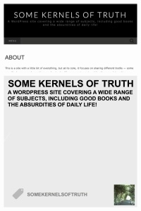 SomeKernelsOfTruth