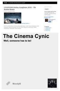 TheCinema Cynic