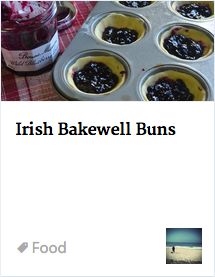 Irish Bakewell Buns