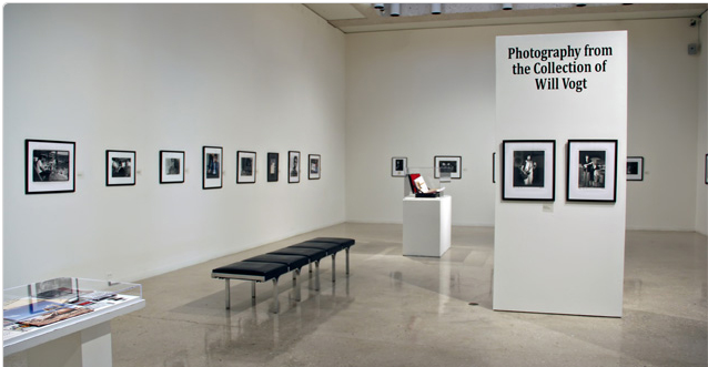 ∫ Will Vogt Exhibit, courtesy Art Museum of South Texas Website.