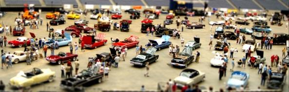 Classy Car Show - Fake Miniature