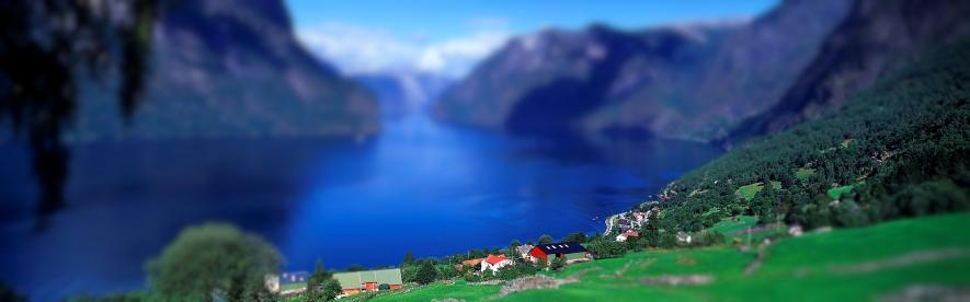 Aurlandsfjord (Norway)