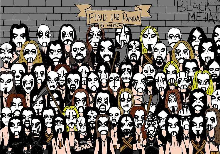 Find the Panda by Espen Westum.