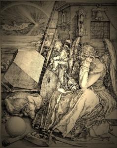 Melencolia I (ca. 1514), by Albrecht Dürer.