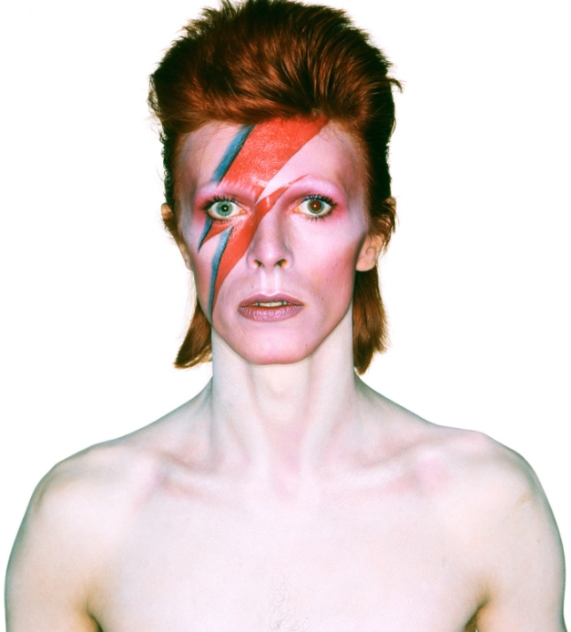 Aladdin Sane Album Cover 1973 - Photograph by Brian Duffy
