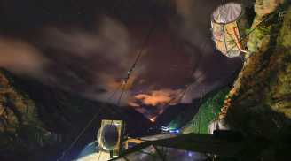 Skylodge at Night