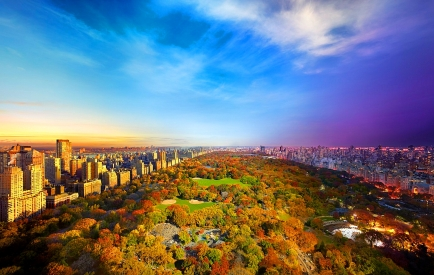 Central Park,View from Essex House, NYC © Stephen Wilkes