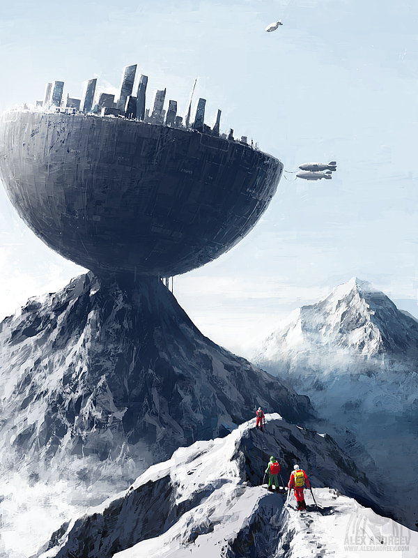 Edge City - A Separate Reality 08 © Alex Andreev