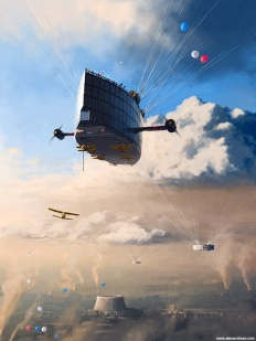 Under clouds. On November, 7th - A Separate Reality 06 © Alex Andreev