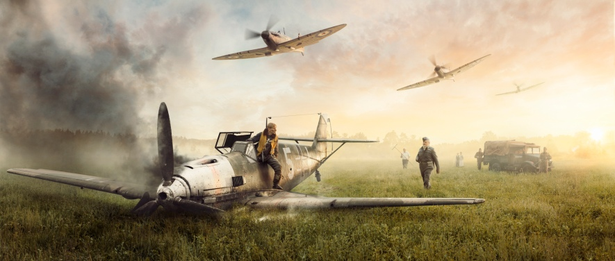 supermarine-spitfire-and-messerschmitt-bf-109e-4