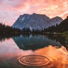 This sunrise was insane.. © Jannik Obenhoff